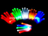 Colorful LED Lighting Flashing Halloween Party Performance Gloves
