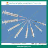 2-Parts Disposable Hypodermic Syringe with CE&ISO