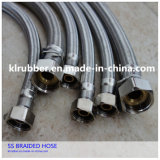 Stainless Steel Chromed Double Interlock Faucet Metal Flexible Hose