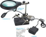 7.5X34mm/2.5X90mm /10X34mm Auxiliary Clip Magnifier with Moveable LED