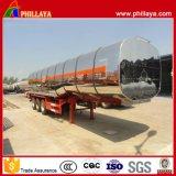 40 Cbm Alloy Metal Tank Semi Truck Aluminum Tanker Trailer