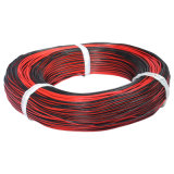 008 Red & Black Silicone Insulated Twin Flat Cable