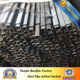 ERW Welded Cold Formed Ms Carbon Black Steel Square Hollow Section Tube