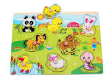 2013 Kids Wooden Animal Puzzle Toys