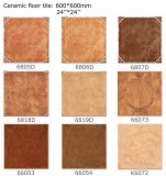 3 D Inkjet Rustic Glazed Ceramic Floor Tile (600X600)