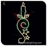 Christmas Street Decoration Light Motif Candle