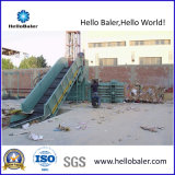 Semi-Auto Horizontal Hydraulic Scrap Baler for Waste Paper Cardboard