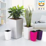 Luxurious Plastic Flower Pot, Decorative Vase (GQ1)