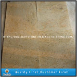 Natural India Kashmir Gold Yellow Granite Kitchen Floor Tiles