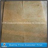 Natural India Kashmir Gold Yellow Granite Stone Kitchen Floor Tiles