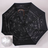 Hot Selling Promotional Rain Automatic Open Stock Golf Umbrella