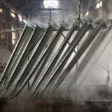 Hot-Galvanized Ground Screw Helix Pile Pole Anchor for Supporting