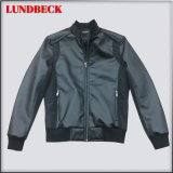 Fashion PU Jacket for Men with Competitive Price