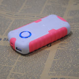 4, 500mAh Portable Mobile Power for Sale, 5V DC/1.5A Input