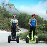 2 Wheels Brushless 4000 Watt Self Balancing Scooter 1266wh 72V Double Battery Golf Scooter