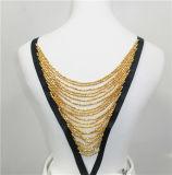 2015 Newest Fashion Beaded Necklace (HMC074)