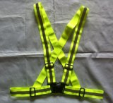 High Visible Elastic Safety Reflective Vest Buckle for Roadway Worker