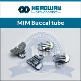 Orthodontic MIM Convertible Roth Buccal Tube Mesh Base