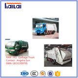 Faw Garbage Truck 6 Cbm Compressed Garbage Truck