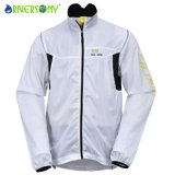 Men′s Cycling Ultra Light Jacket, Outdoor Bicycle Jacket, Reflective Piping Across The Armhole