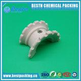 Mass Transfer Efficiency Ceramic Super Intalox Saddle Ring