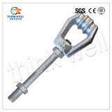 Forged Hot DIP Galvanized Expand Eye Screw Anchor Rod Bolt