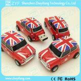 Promotional Gift Mini Car Shape Plastic USB Stick (ZYF1235)