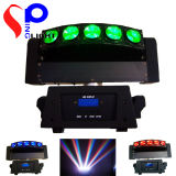 2014 Hot New Version 5 Eyes 10W LED Quad Color Scan Light LED Beam Moving Head Lightt