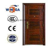 High Quality Steel Security Door with Single Doorleaf (W-S-08)