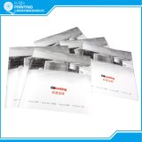 Saddle Stitch Brochure Printing with Silver Printing