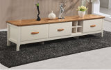 European Simple Solid Wood TV Cabinet or TV Stand