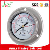 Anti-Vibration/ Vibration-Proof Pressure Gauge with Silicone Oil