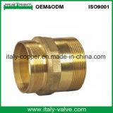 Customized Quality Bronze Straight Fitting /Red Brass Fitting (AV-QT-1018)