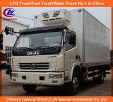 4*2 Dongfeng 1ton 2tons 3tons 5tons Refrigerated Van Truck