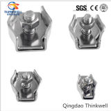 Factory Price Stamping Stainless Steel Simple Wire Rope Clip