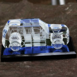 Customize Crystal Car Model Craft for Office Decoration
