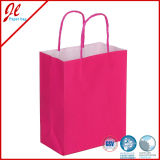 2016 Main Products White Kraft Paper Shopping Bag in Super Market