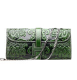 China Manufacturer Custom Handmade Leather Purses Wallets for Women