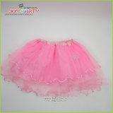 Pink Organza Party Skirt Tutu Ballet Skirt