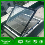Aluminum UPVC Top Roof Glass Skylight Window