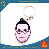 High Quality Customized Person Character Shape Rubber Key Chain at Factory Price
