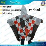 Economy Waterproof, Fire Retardant Polyester Poncho (NF05F08004)