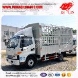 Factory Sale Side Door Open Van Truck with 6 Tires