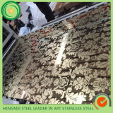 SUS 201 304 Colour Etching Decorative Stainless Steel Sheet for Color Stainless Steel