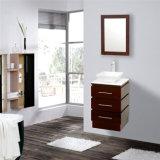 Modern Wall Mounted Wood Hotel Bathroom Furniture with Mirror