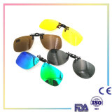 2016 New Fashion Mans Womans Polarized Clip on Sunglasses