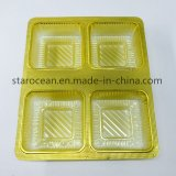 Plastic Food Container PVC Vacuum Forming Tray for Cookies