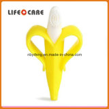 Banana Teething Silicone Baby Toothbrush