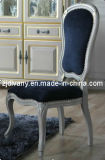French Style Home Furniture Dining Room Wooden Fabric Chair (2701-A)