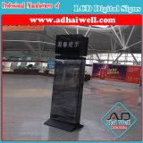 Slim WiFi Station 42 Inch Floor Standing LCD Digital Advertising Screen